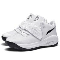 2021 패션 높은 상위 농구 신발 흰색 내마 모성 젊은 전문 실용적인 남성 스포츠 실행 신발 검은 여름 겨울 스니커즈