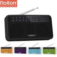 Rolton E500 6W Portátil Digital FM Radio Inalámbrico Bluetooth Altavoz HIFI STEREO MUSICUS MUSIC PLAYER MIC Hand-Free RECORD TF