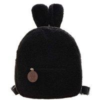 Mini Backpack Waist Bags Cute Lamb Plush Bag Women's Early Autumn 3 Colors Handbag