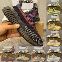 2021 hombres zapatos de mujer corriendo 3m Crío Ash Pearl Carbon Zebra israfil tierra arena estática negro yecheil para hombre zapatillas de deporte con caja 36-48