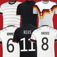 Reus Germania Soccer Jersey Hummels Kroos Gnabry Werner Draxler Muller Camicia da calcio Casa Away Uniforms Men + Kid Kit