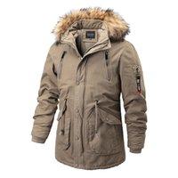 Designers -30 Degree Winter Parka Jacket Men Fashion Hooded Fur Collar Windbreaker Coat Wool Liner Keep Warm OutwearThick Parkas Mens Clothe