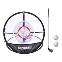 Golf Training Aids Chipping Practice Net -UP Indoor Outdoor Pitching Cages Mats Easy 8