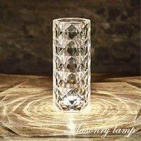 Table Lamps Latest USB Masonry Lamp Bedroom Living Room Study Night Light Next To Crystal Art Decoration