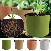 Planters & Pots Garden Plant Seeding Grow Bags Vegetable Flower Pot Planter DIY Potato Growing Bag Tools
