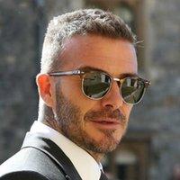 Солнцезащитные очки Polarized Men 2021 Brand Designer Semi Rimless Classic Sun Glasses Женщины Lentes De Sol Hombre Shades Sunglass