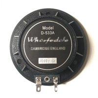Diaphragme de haut-parleurs de l'ordinateur pour querfedale D-533A pilote EVP-X12, X15, X215, Titan 8OHM