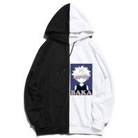 Men's Hoodies & Sweatshirts 2021 Men X De Moletom Com Capuz Preto Manga Comprida Dos Homens Pullovers Harajuku