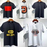 Phantomschildkröte Herren Designer T Shirts Schwarz Weiß 2020SS Mode Tshirts Sommer Muster T-Shirt Männliche Kurzarm 02Q5BC #