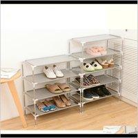 Holders Racks Nonwoven Fabric Storage Shoe Rack Hallway Cabinet Organizer Holder 23456 Layers Select Shelf Diy Home Furniture 201109 D 0Tdhs