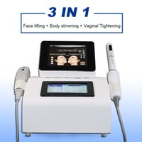 2021 Newtest 3 в 1 вагинальный Hifu машина для лица, поднятие кожи Омоложение устройства тела тела для похудения Салон красоты Оборудование