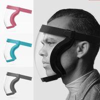 Aktif Kalkan Hibrid Yüz Maskesi Kalkanı Anti-Sprey Maskesi Anti-Sis Toz Geçirmez Rüzgar geçirmez ve Bisiklete binme için Soğuk Kokunma FY9521