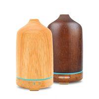 Massivholz Ätherische Öldiffusor El Getreide Duftmaschine Ultraschall Haushalt Aromatherapiegerät Befeuchter