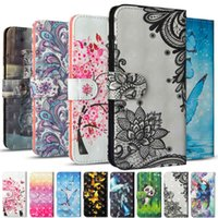 3D Wallet Case For Note 8T Note8T Cases Flip Phone Cover Luxury Leather Stand Protective Cart Slot Holder Capa