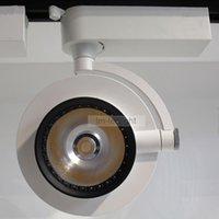 Fil LED Rails 20W 360 degrés Rotation Track Track 20pcs 85-265V Chaud / jour / Pure Blanc Light COB