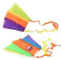 Portatile Pocket Pocket Pocket Kite Kid Toy Toy Case Sport Outdoor Sport Bambini regalo multicolor Singoli aquiloni DWA5379