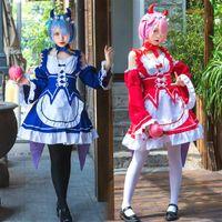 Maid Costume Cosplay Animation Show Japanisches Restaurant Lolita-Süße Arbeit Anime