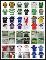 Celtic Retro Soserys Larsson 1984 87 90 92 93 94 95 96 97 99 2001 02 03 Laudatum Gascoigne Schottland Vintage Classic Football Hemd Uniformen