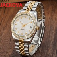 Lovers Designer Diamonds Ring Watches Women Men Automatic Mechanical 2813 Movement Watch Luminous Sapphire Waterproof Sports Self-wind Fashion Wristwatches Gift