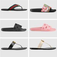 2021 Summer Luxury G Sandali Designer Designer Donne Flip Flops Slipper Moda Vernice in vera pelle Diapositive in metallo Catena di metallo Scarpe casual da donna