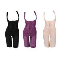 여성용 고품질 나일론 슬림 코르셋 슬리밍 정장 바디 셰이퍼 숯 조각 속옷 5 크기 슬리밍 속옷