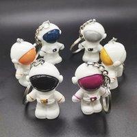 أزياء رائد فضاء سحر 3D الفضاء روبوت روبوت الفضاء سلسلة المفاتيح سيارة الراتنج كيرينغ هدية صغيرة للرجل صديق