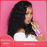Synthetic Wigs Lace Wig various colors Ladies Brazil Small Curly 150% Density Factory Direct Sales