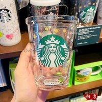 414ml Starbucks Cup 25th Anniversary Bear Mugs Open Glass Amusement Park Mug