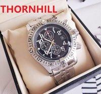Top Fashion Luxury Men Stopwatch Watches Mens Chronograph Quartz Watch Sport Date high quality Wristwatches Famous design Nice clock
