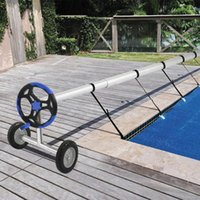 Pool & Accessories Swimming Solar Cover Reel Attachment Kit Firm Sturdy Tube Covers From 10ft To 24ft Wide And More