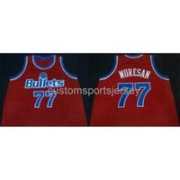 Сшитые пользовательские Gheorghe Muresan Road Classics Basketball Jersey NCAA Men Basketball Tribersys