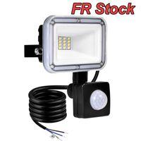 Floodlight per esterni a floavia del sensore di movimento da 50W, luce di sicurezza da 100W, luce impermeabile IP66, luci 6500K per garage Yard Patio Patching Pareching Porch wngways