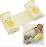 Comodo cotone anti-rotolo cuscini adorabile bambino bambino cassaforte cartone animato sonno testa posizionatore anti-rollover per baby lettino