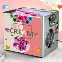 Frittiert Eismaschine Home Commercial Electric Roll Maker Pan Creme Gebratene Joghurt Maker / Pan / Roll Backformen