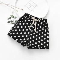 Shorts 2021 Girls Summer Beach Kids Baby Dot Print Bow Little Children Fashion Short Pants Clothes
