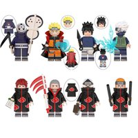 Niños Mini Anime Figura Muñeca Juguetes de dibujos animados Montaje Building Block Modelo al por mayor Licks Accesories Kids Game Regalo