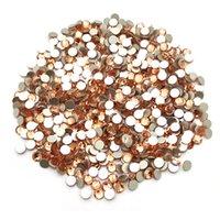 1440PCS 3mm Flat Back Glass Rhinestones för Kvinnors Handgjorda Smycken Tillbehör GR001-GR037