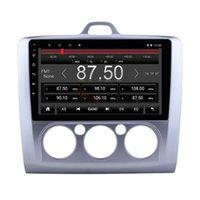 자동차 DVD 라디오 9 인치 안 드 로이드 10 자동차 멀티미디어 네비게이션 시스템 Ford Focus 2 2004-2011 WiFi 자동차 오디오 플레이어 스테레오