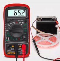 أنينغ an8205c الرقمية المتعدد ac / dc مقياس اممتر فولت أوم اختبار متر multimetro مع الحرارية lcd الخلفية المحمولة