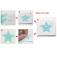 100pcs Stars Luminous Wall Stickers Fluorescent Plastic PVC Glow In The Dark Room Ceiling Switch Decoration Sticker Art Home Decals LLE7491