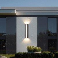 Outdoor Wall Lamps Waterproof Lamp LED Light IP65 Courtyard Garden Villa Porch Sconce 110V 220V Luminaire