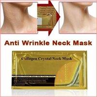 Anti Wrinkle Gold Activate Collagen Neck Mask Neck youthful Care White Moisturizing Anti aging