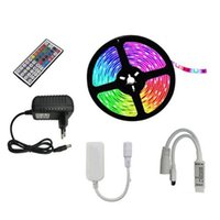 Strips 10M LED Lamp With RGB SMD Flexible Ribbon Diode DC12V Bluetooth Control Adapter-EU Plug