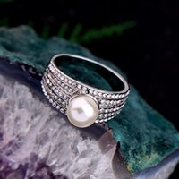 Wedding Rings Luxury Crystal Imitation Pearl Finger For Women Gifts Engagement Anniversary 2021 Fashion Jewelry