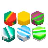Barattoli di stoccaggio in silicone Essential Slick Oil 26ml Silicone Wax Oil Concentrate Contenitore Contenitore Contenitore Vetro DAB Strumento HHB6308