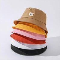 Ac Studios Smile Face Fashion Fisherman Hat Foldable Bucket Women Summer Beach Sun Shade Unisex