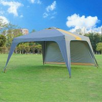 Tents And Shelters Large Beach Sun Shelter Rainproof Camping Gazebo Ultralight Fishing Air Travel Tenda Outdoor Product