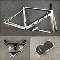 2020 Bleu Bleu Colnago V3RS Carbon Disque Cadres Disque Frameet Route Vélo Vélo Guidon Bouteille Cages emballées à vendre