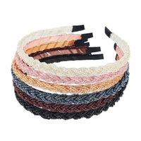 Kristal Boncuklu Saç Hoop Zarif Kadın Bantlar Şapkalar Ayarlanabilir Hairband Moda El Yapımı Kızlar Saç Aksesuarları 3229 Q2