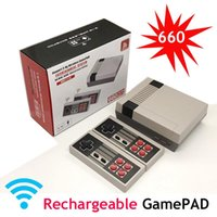 Portable Game Players 4K HD Mini TV Console Handheld Rechargeable Wireless Controllers 8 Bit Retro Video Built-In 620 660 Games
